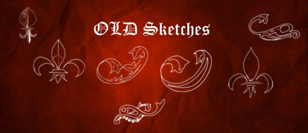 Old sketches brush pack