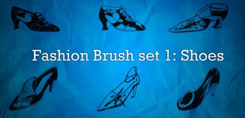Fashion Brushes 1: Shoes