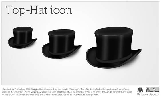Top-Hat Icon