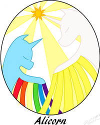 Alicorn fancover