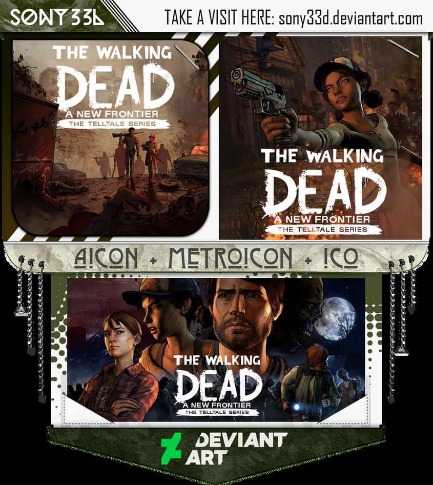 Telltale's Walking Dead - The New Frontier by sony33d