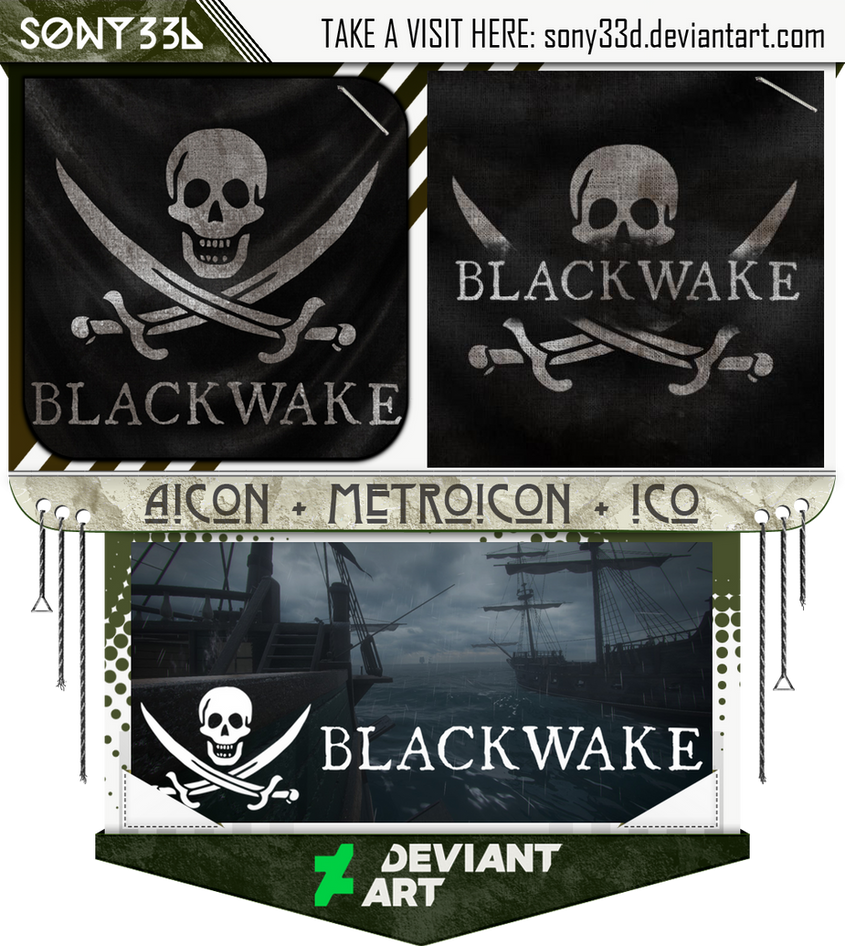 Blackwake by sony33d