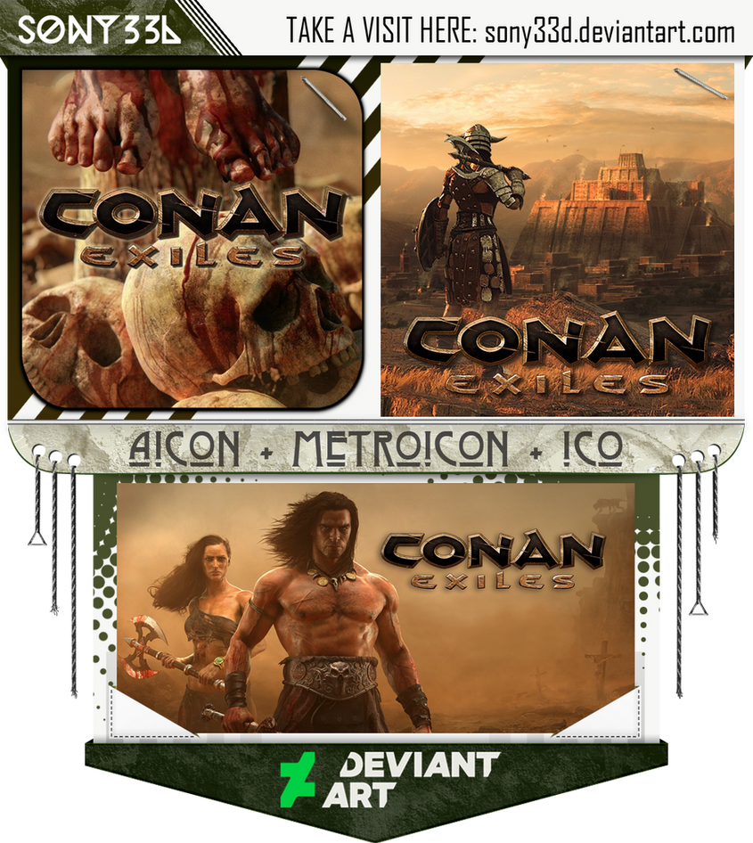 Conan Exiles by sony33d
