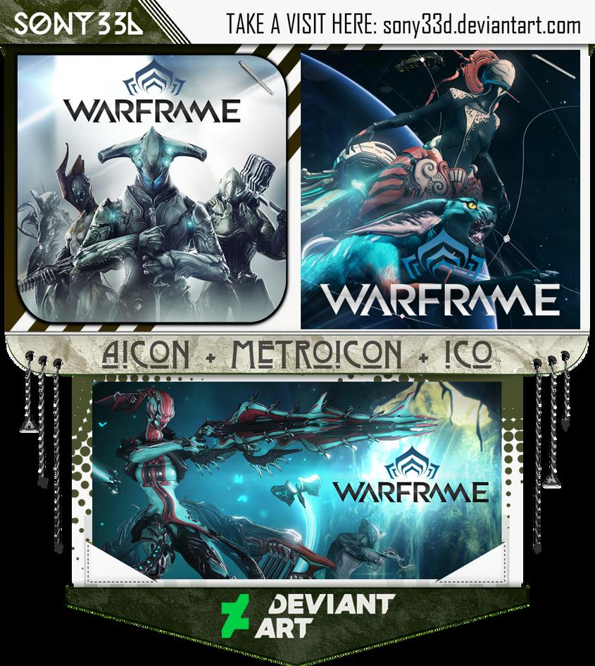 Warframe by sony33d