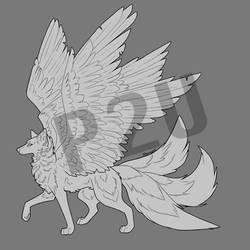 Winged Wolf Pay 2 Use Base