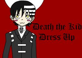 Death the Kid Dress Up Game by MariksKitten