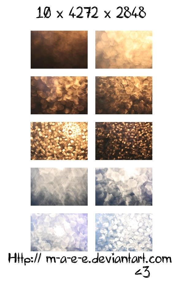Bokeh Textures by meyrembulucek