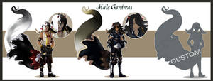 Male Gardrea batch : AUCTION : CLOSED by Tammi-Adopts