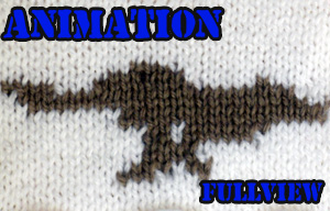 Knitted Animation - Wolf by GRichmond