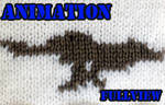 Knitted Animation - Wolf