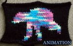 Knitted Animation - Bear