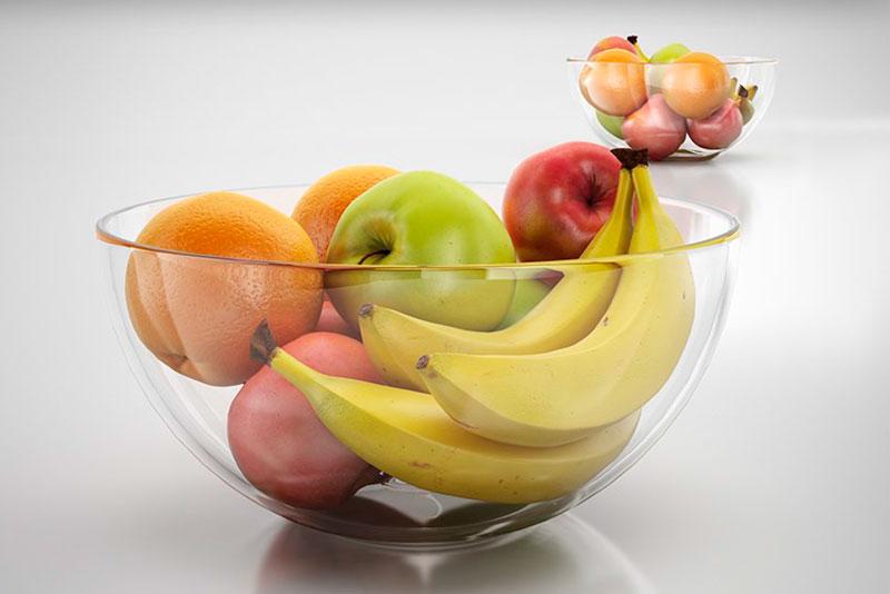 Vidro com frutas -modelo 3D de alta detalhada by Big-Big-Models-3D ...