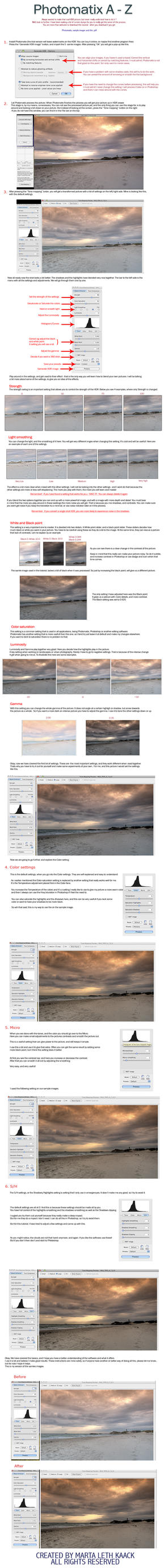 Photomatix from A to Z by Initio