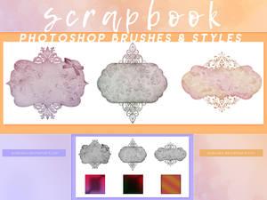 PHOTOSHOP BRUSHES + STYLES - scrapbook