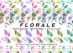 PHOTOSHOP PATTERNS - florale