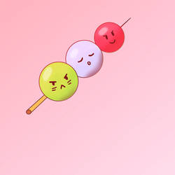 Dango animation with faces