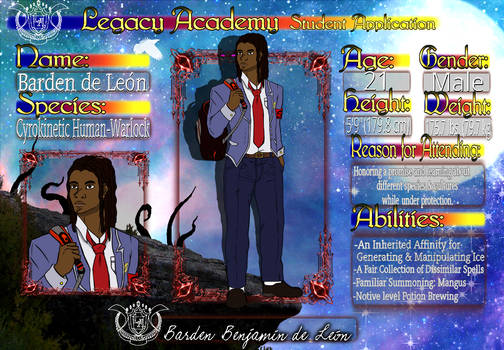 Legacy Academy: Barden de Leon