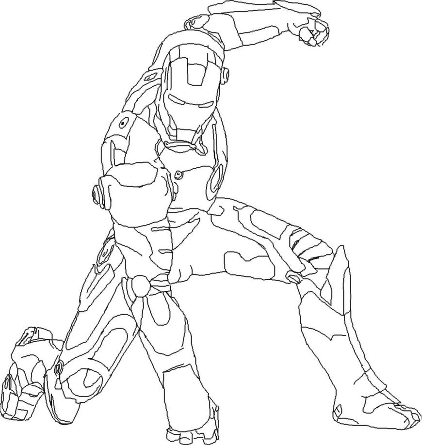 Игры железный человек раскраска