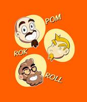 Pom-Rok and Roll Stream animated gif by Gx3RComics