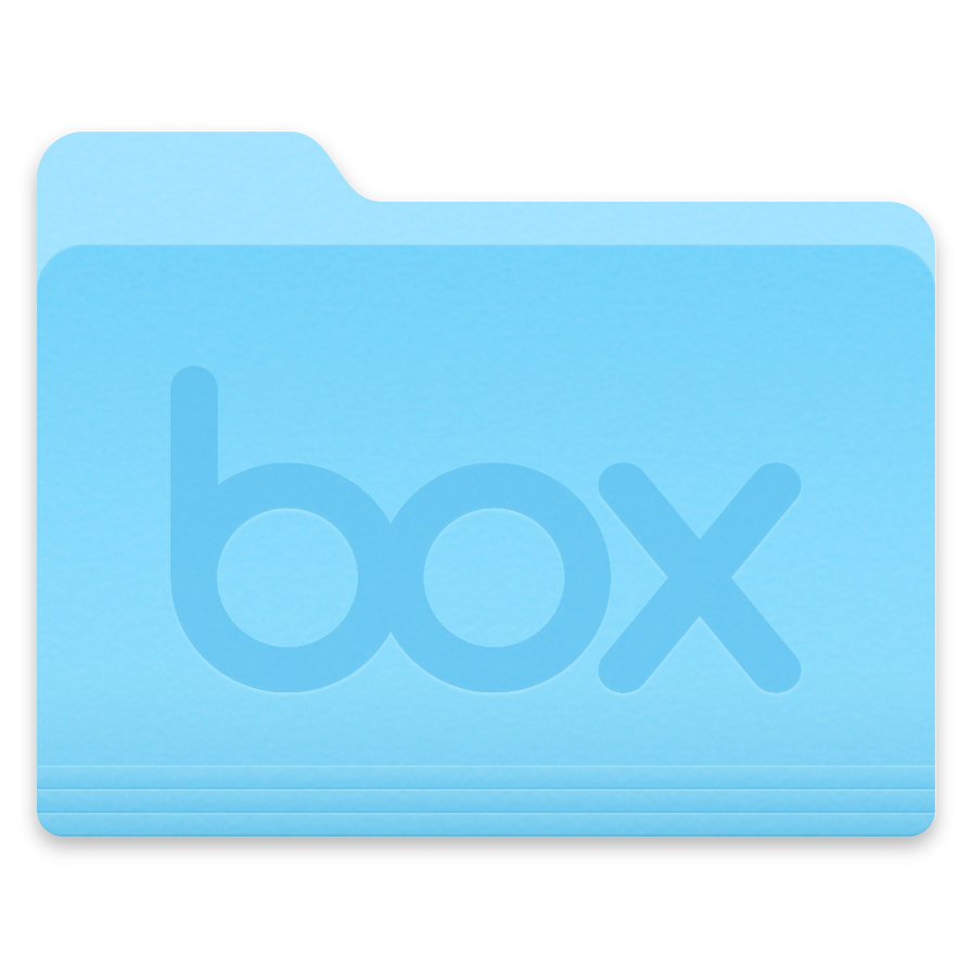 OS X Yosemite/El Capitan Box Folder Icon by esebastianm on