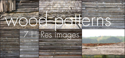 7 Hi-Res Wood Patterns by fluerasa