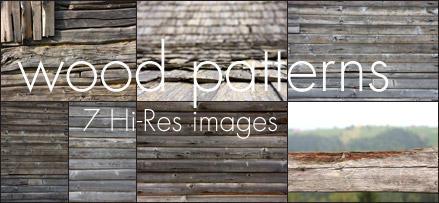7 Hi-Res Wood Patterns by fluerasa