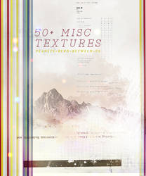 50+ miscellaneous textures