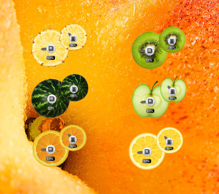 Fruity Cpu Meter Gadgets