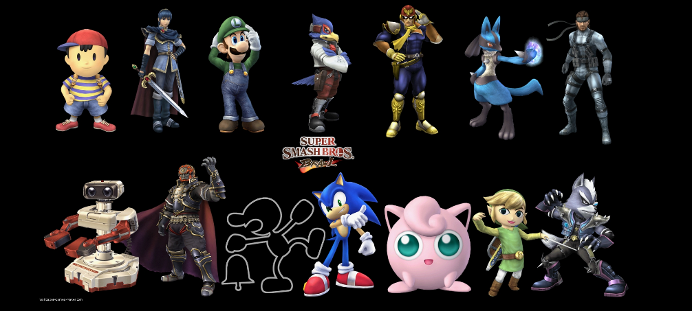 Super Snake 2017 >> Super Smash Bros. Brawl - Unlockable Characters by ...