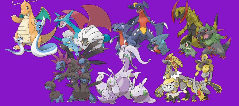 how to draw dragon type pokemon