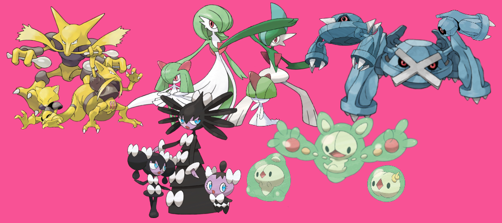 All Psychic Type Pokemon Images | Pokemon Images