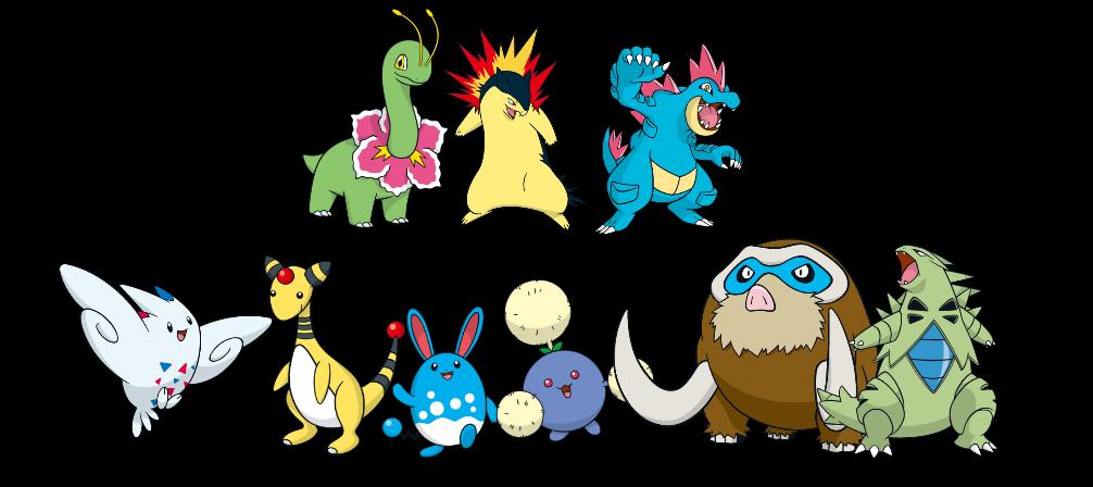 Pokemon 3-Stage (Global Link/Dreamworld) - Gen 2 by quintonshark8713