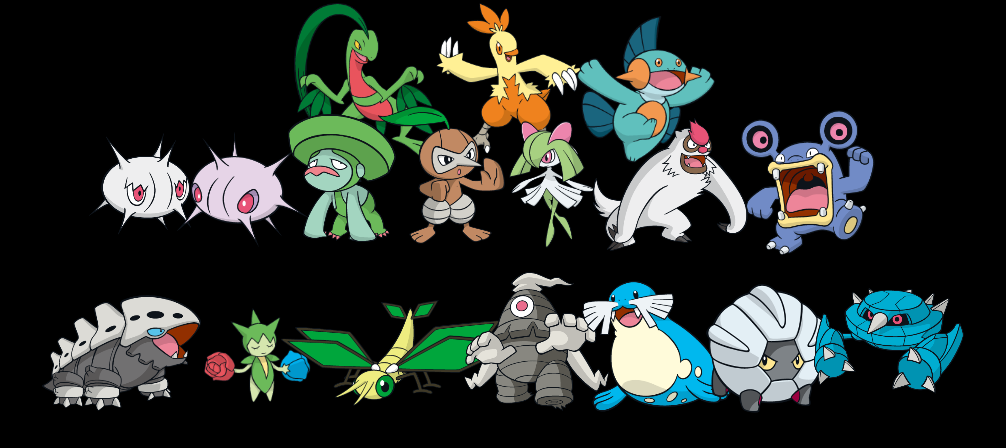 Pokemon 3-Stage (Global Link/Dreamworld) - Gen 3 by quintonshark8713