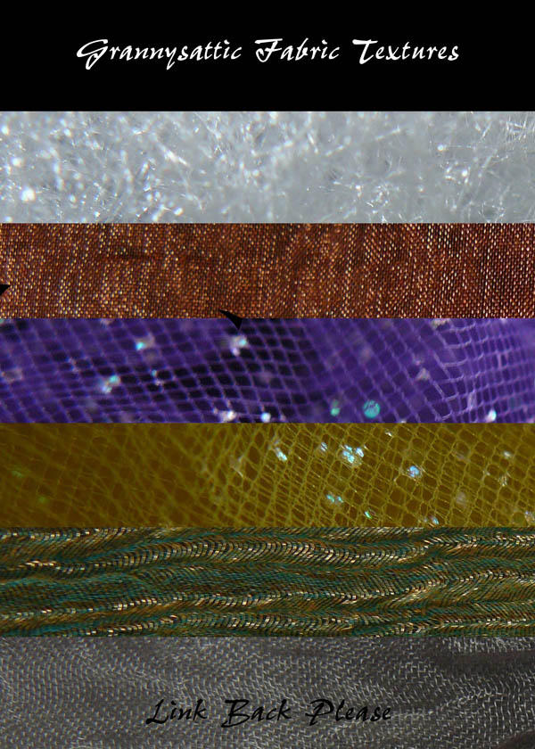 Fabric Textures by GRANNYSATTICSTOCK