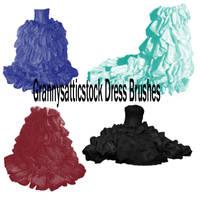 PaintShopPro Dress Brushes by GRANNYSATTICSTOCK