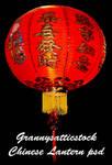 Chinese Lantern psd