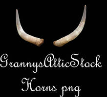 Horns psd by GRANNYSATTICSTOCK