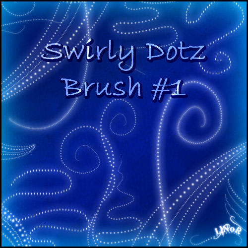 Swirly dotz brush by LiNoR