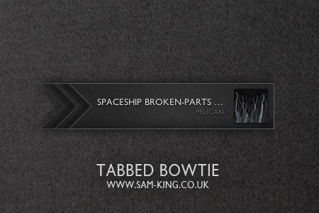 Tabbed Bowtie