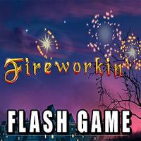 FLASH GAME_Fireworkin' by vest