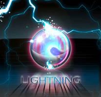 Lightning Sphere PSD by gusti-boucher
