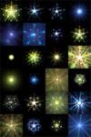 24 X-Mas Fractals for quadrium