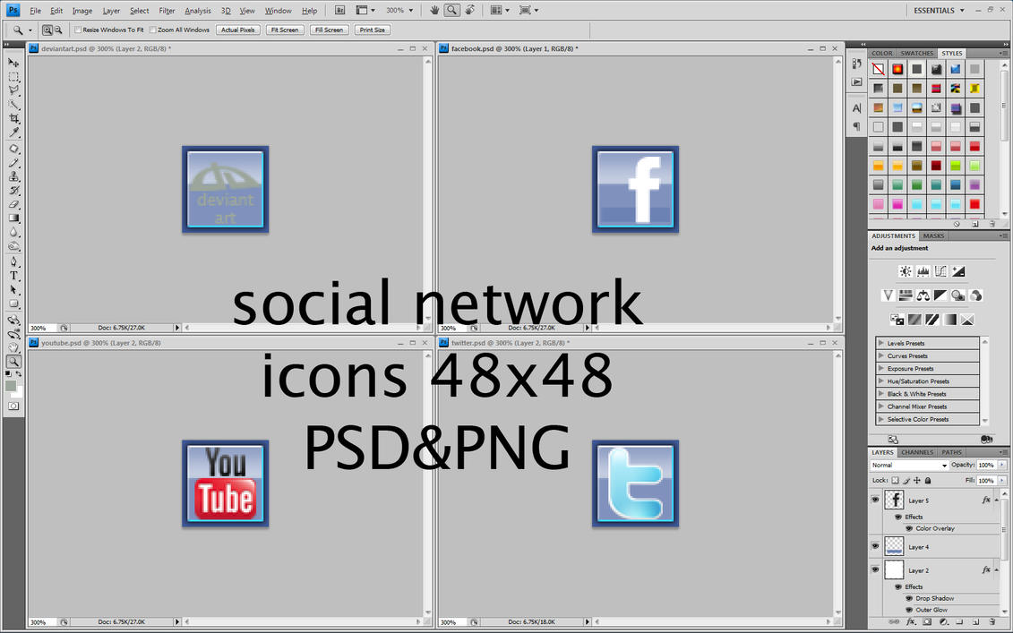 social network icon 01 by will-yen