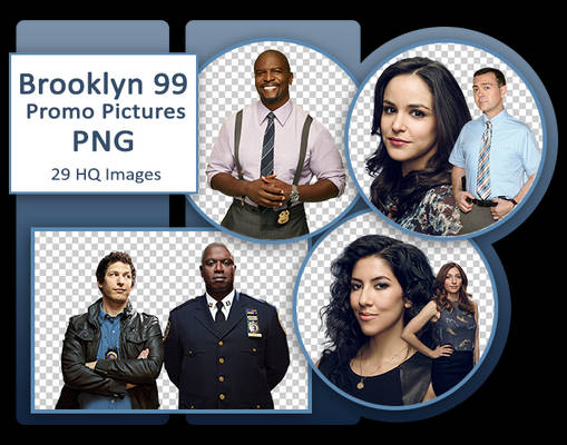 Brooklyn 99 Promo Pictures PNG Pack