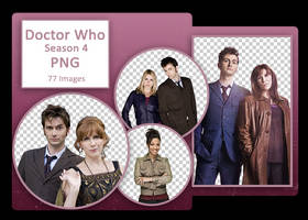 Doctor Who Season 4 PNG Pack