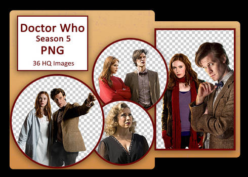 Doctor Who Season 5 PNG Pack