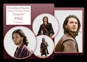 Narnia: VotDT PNG Pack - 'Caspian'
