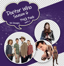Doctor Who Season 6 PNG Pack part 1