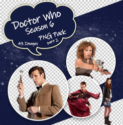 Doctor Who Season 6 PNG Pack part 2