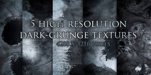 5 Dark Grunge Textures